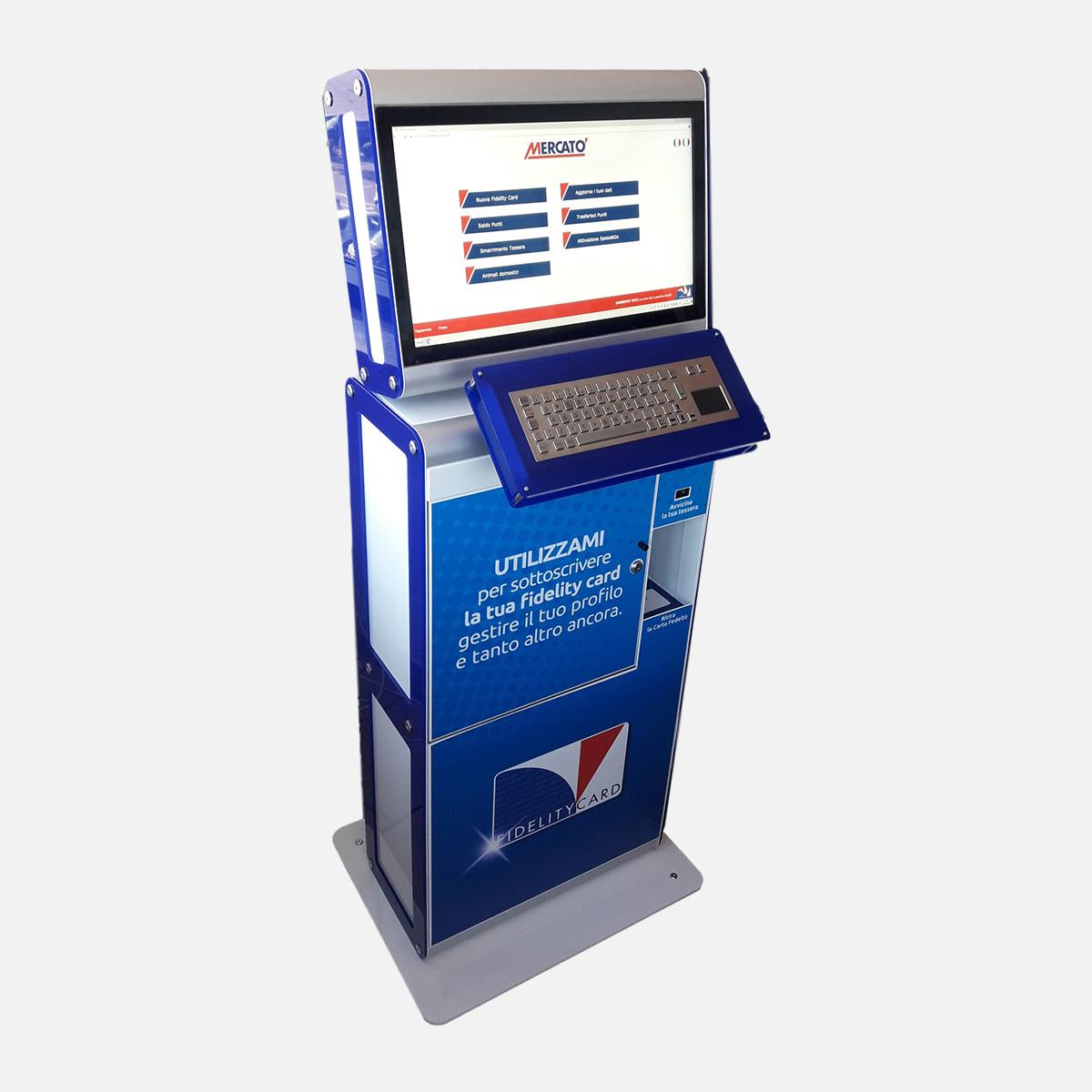 SmartKiosk Italy - Fidelity Card Dispenser TF04